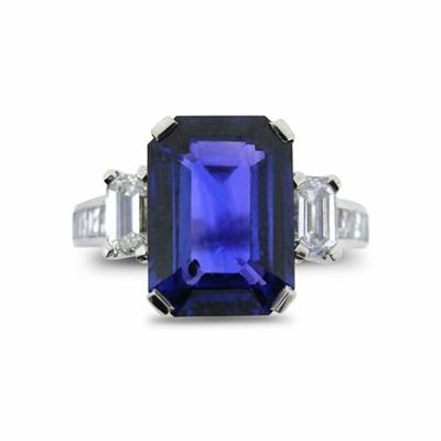 Sapphire and Diamond Dress Ring 4.00ct